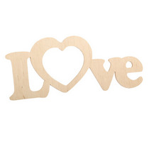 """Слово """"Love""""  c сердцем, 33,5х10,5 см"""