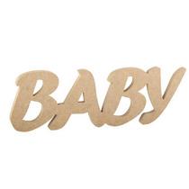 Слово Baby большое, 30х10 см