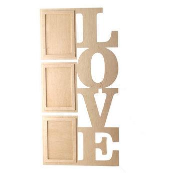 Рамочки для фотографий LOVE вертикаль