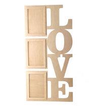 Рамочки для фотографий LOVE вертикаль, 55х30 см