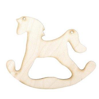 Деревянная заготовка Лошадка-качалка