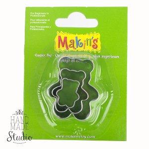 Каттеры для глины Makin's, мишки
