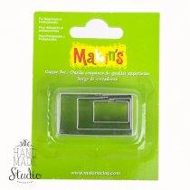 Каттеры для глины Makin's, прямоугольники
