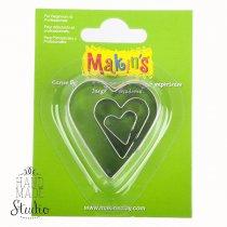 Каттеры для глины Makin's, сердечки