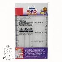 Линейка для смешивания полимерной глины Fimo