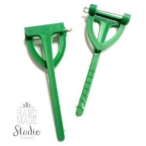 Основа для бутоньерки зеленая большая