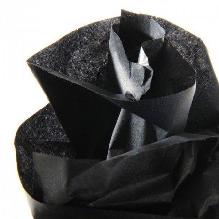 Бумага тишью, цвет - черный