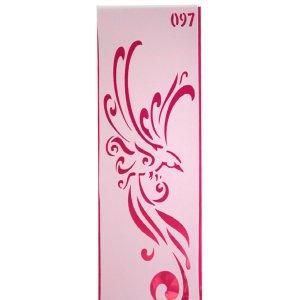 Универсальный трафарет 11х33 см, №097