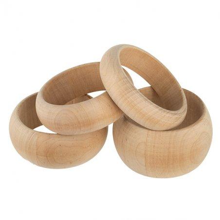 Браслет деревянный  ширина - 2 см
