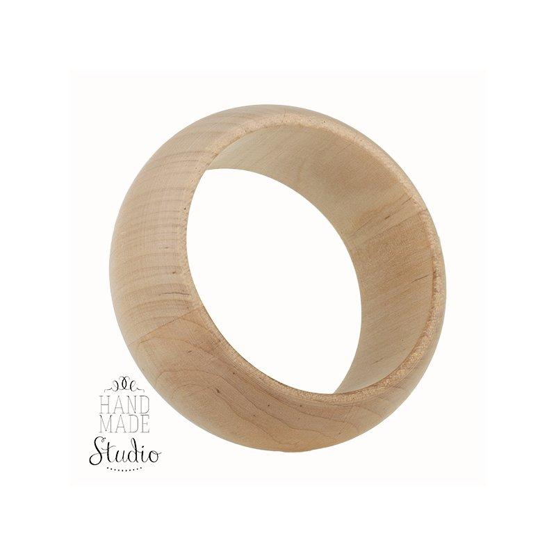 Браслет деревянный  ширина - 3,5 см