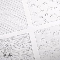 Текстурные листы для глины Makin's (Набор D)