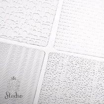 Текстурные листы для глины Makin's (Набор C)