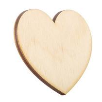 Деревянная заготовка Сердце 6х5 см