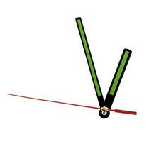 Cтрелки для часов L102, цвет - черный