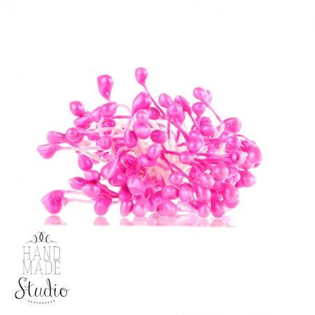 №68 Цветочные тычинки розовые