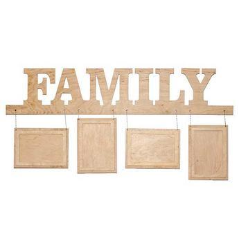 Рамочки для фотографий FAMILY подвесные