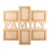 Рамочки для фотографий FAMILY горизонталь, 52х45 см
