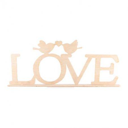 """Слово """"Love"""" на подставке"""