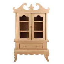 """Кукольная мебель """"Сервант с дверками"""", 23х37х9 см"""