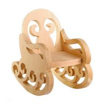 "кукольная мебель ""Кресло-качалка"" №1, 9х15х7 см"