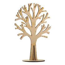 Деревянная заготовка Дерево на подставке, 13х18 см