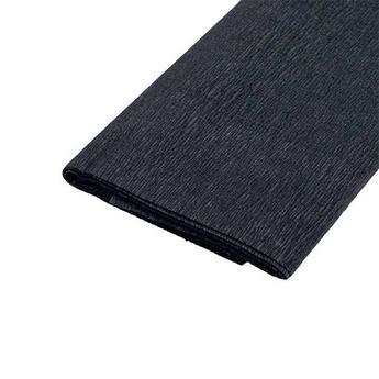 Бумага крепированная (креп-бумага), цвет - черный, Art.4120390