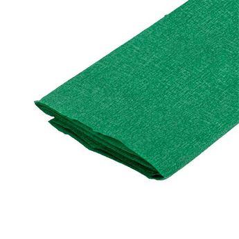 Бумага крепированная, цвет - зеленый, Украина
