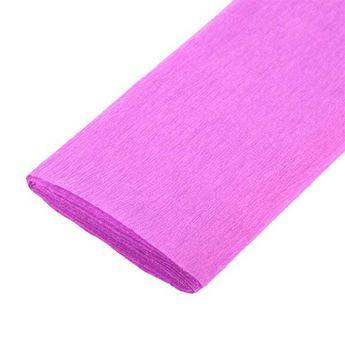 Бумага крепированная, цвет - розовый, Украина