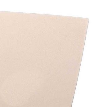 Фоамиран иранский 30х30 см №29, цвет античный белый