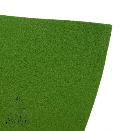 Фоамиран иранский 30х30 см, №16 цвет темно-зеленый