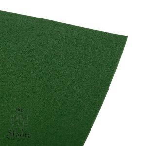 Фоамиран иранский 30х30 см, №32 цвет морской зеленый