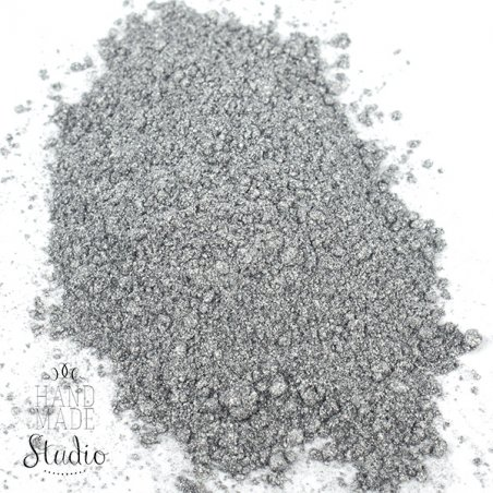 Перламутровая пудра, цвет - серебро
