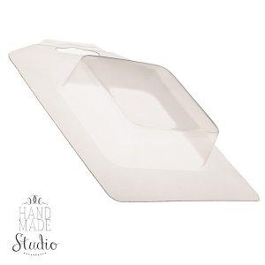 Пластиковая форма для мыла Квадрат, размер - 7х7см