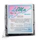 полимерная глина пластишка Lema металлик, черный перламутр №0313, 64 г