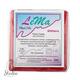 полимерная глина пластишка Lema глиттер, рубин №0405, 64 г