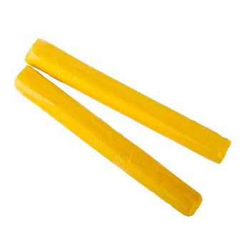 полимерная глина пластишка Lema глиттер, желтый №0404, 17 г