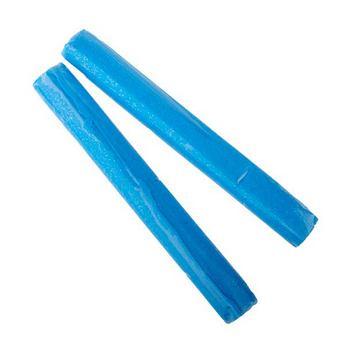 полимерная глина пластишка Lema глиттер, голубой №0408, 17 г