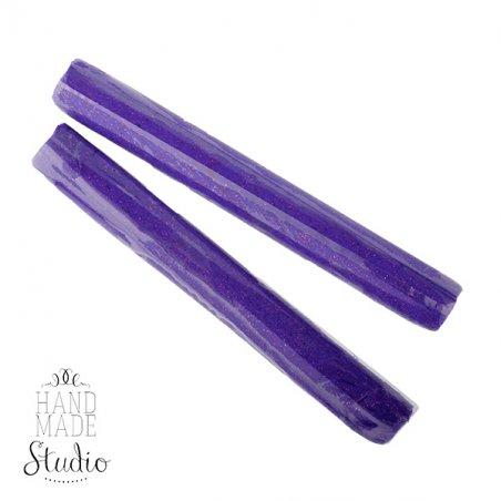 полимерная глина пластишка Lema глиттер, фиолетовый №0407, 17 г