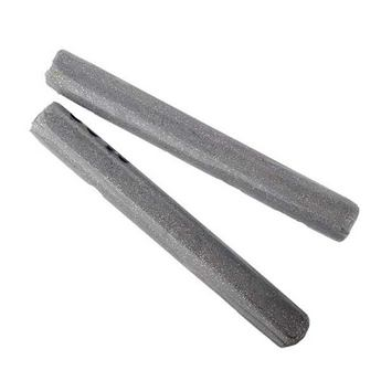 полимерная глина пластишка Lema глиттер, серебро №0402, 17 г
