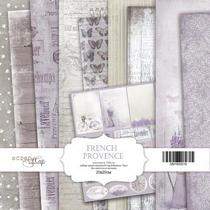 "Набор односторонней бумаги 20х20см ""French Provence"" 10шт"