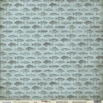 "Лист односторонней бумаги 30x30 ""Клев из коллекции Мистер Винтаж"", 190г/м2, 1 лист"
