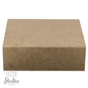 Шкатулка квадратная на 9 отделений, 25х20х8,5 см