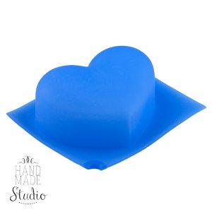 Силиконовая форма Сердце округлое