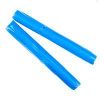 Полимерная глина пластишка/bebik голубой циан, 17г, 0115