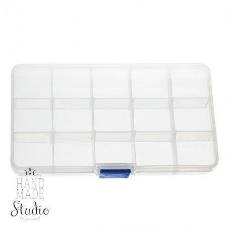 Органайзер для фурнитуры прозрачный 10*17,5 см