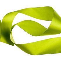 Атласная лента, цвет хаки, 50 мм