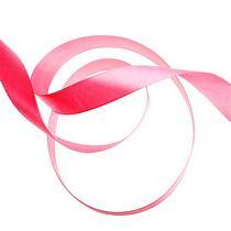 Атласная лента, цвет розовый,25 мм