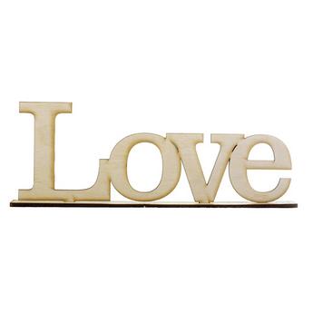 """Слово """"Love"""" на подставке (маленькое)"""