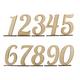 Набор цифр на подставке 15 см