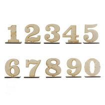 Деревянная заготовка цифра 8 на подставке, 7 см